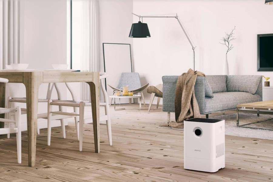 Oczyszczacz powietrza Boneco W200 w pokoju