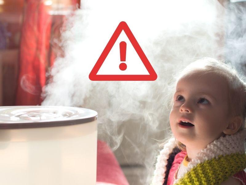 Nawilżacz powietrza dla dziecka - uważaj na ultradźwięki! ranking-oczyszczaczy.pl