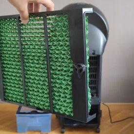 Klimatyzer ewaporacyjny Sencor SFN 9011 SL filtr nawilżający