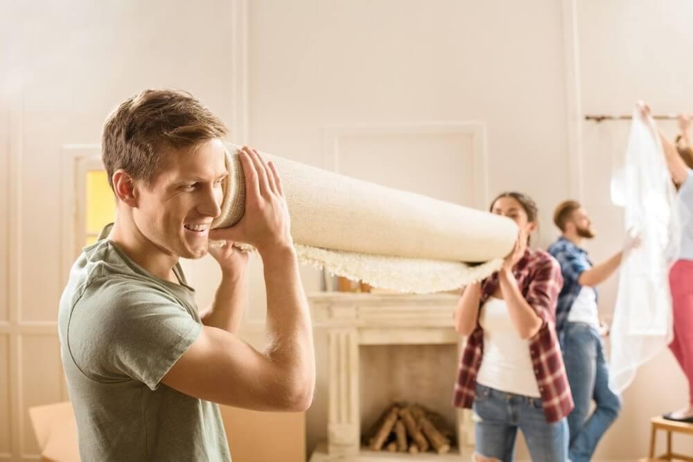 Jak pozbyć się kurzu? usuń dywany