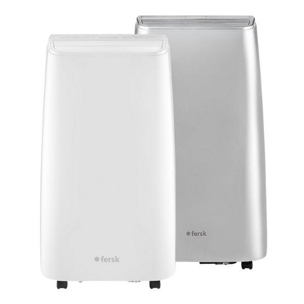 klimatyzator przenosny fersk vind 2 wifi hepa bialy srebrny
