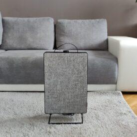 IKEA fornuftig w salonie widok z przodu