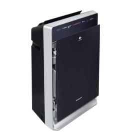 Bok czarnego oczyszczacza powietrza Panasonic F-VXR70