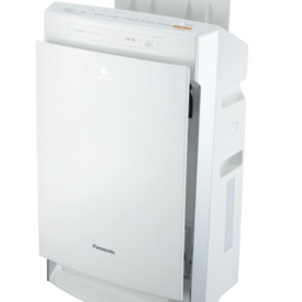 Oczyszczacz powietrza Panasonic bokiem