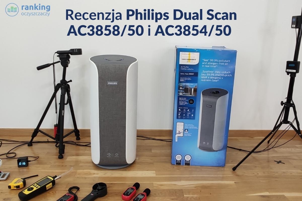 Philips Dual Scan AC3858/50 i Philips Dual Scan AC3854/50 - Recenzja