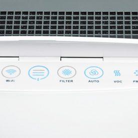 Panel i wylot powietrza oczyszczacza powietrza Blueair Classic 480i