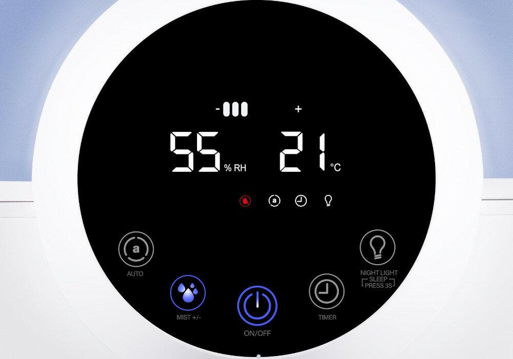 Wyświetlacz nawilżacza powietrza Milla Home MAH600