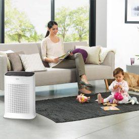 Oczyszczacz powietrza Tefal PT3030 w salonie
