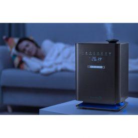 Nawilżacz powietrza Setti+ Smart AH900 w sypialni
