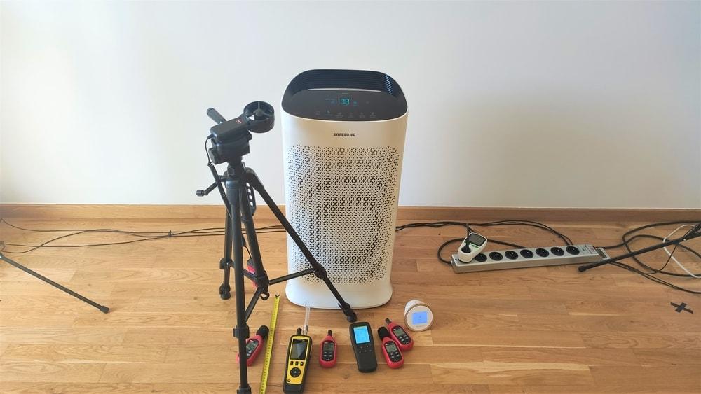 Oczyszczacz powietrza Samsung AX60 recenzja