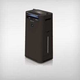 czarny oczyszczacz powietrza Sharp kc-g40euw