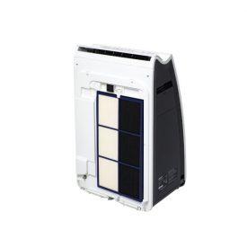 Oczyszczacz powietrza Sharp KI-G75EU z przodu z filtrami na wierzchu