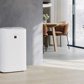 oczyszczacz powietrza Sharp-UA-KIN50E-W w pokoju