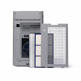 Filtry i tył oczyszczacza Sharp UA-HG60E-L